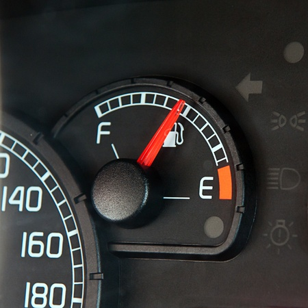 Close up of car dashboard Stock Photo