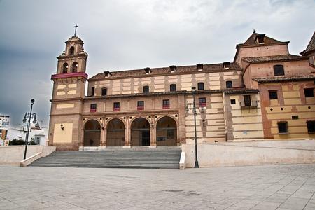 church in Malaga, Spain. Santua de la Victoria. Stock Photo - 13388617
