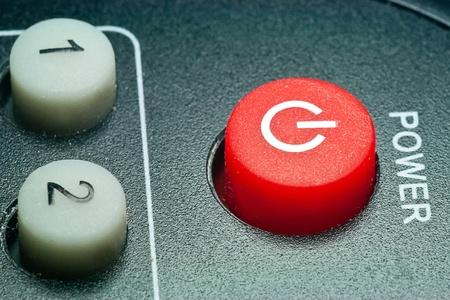 Remote control power button photo