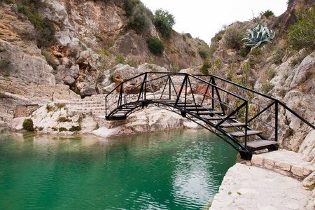 little lake in Bolbaite, Valencia, Spain Stock Photo - 13569853