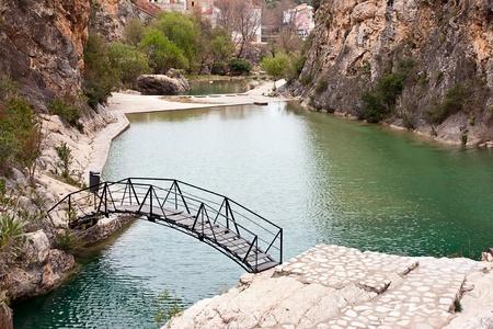 little lake in Bolbaite, Valencia, Spain Stock Photo - 13569864