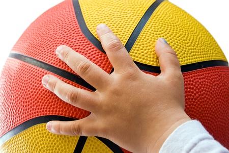 ball of basketball  photo