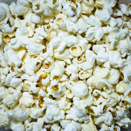Salted popcorn grains  photo