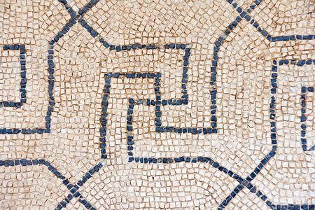 old mosaic background photo