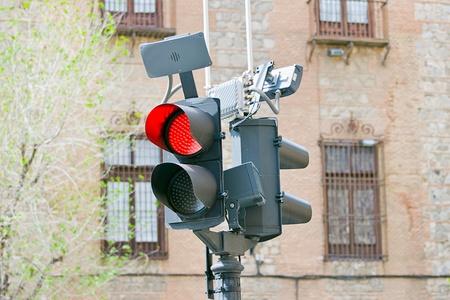 traffic semaphore in a street photo