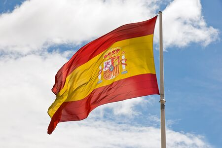 spanish flag photo