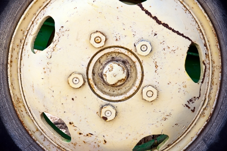 old wheel Stock Photo - 14951125