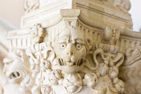 gargouille: pierre gargouille Banque d'images