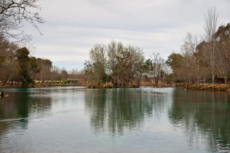 little lake in Anna, Valencia, Spain Stock Photo - 15034011