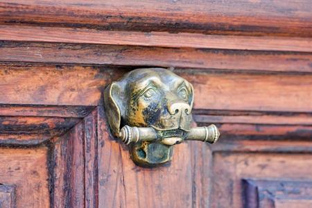 old door knocker Stock Photo - 16483610