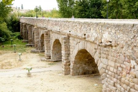 salamanca: bridge in Salamanca, Spain