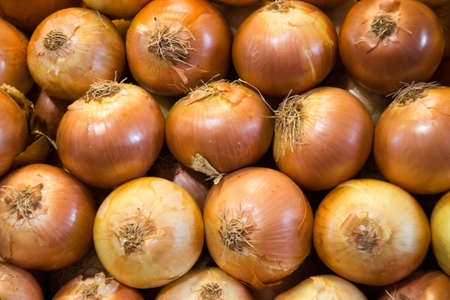 onions in a market Stock Photo - 16846863