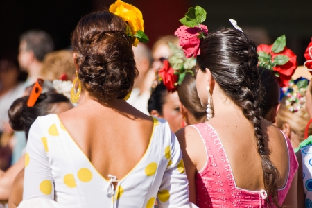 TORREMOLINOS, SPAIN - SEPTEMBER 23: Pilgrims participate in the traditional Romeria Editorial