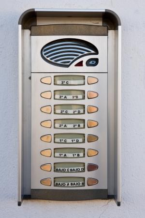 old doorphone Stock Photo - 17300181