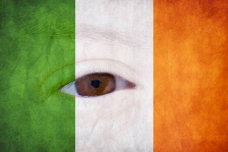 Ireland flag Stock Photo - 17300116