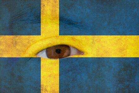 sweden flag: Della bandiera della Svezia