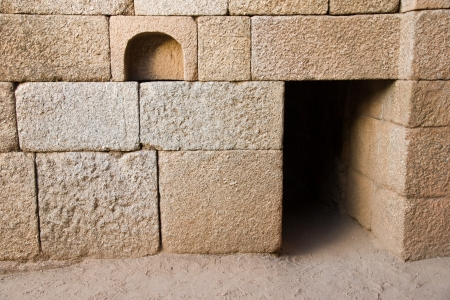 merida: Roman theater in Merida, Badajoz, Extremadura, Spain