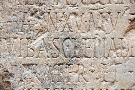 Roman ruins in Merida, Badajoz, Extremadura, Spain Stock Photo - 17554998