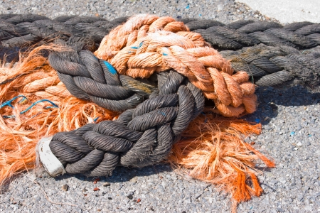 seafaring ropes photo