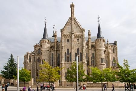 Gaudi palace in Astorga, Leon, Spain Stock Photo - 17913734