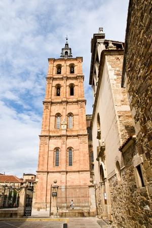 Saint Mary Cathedal of Astorga. Spain  photo