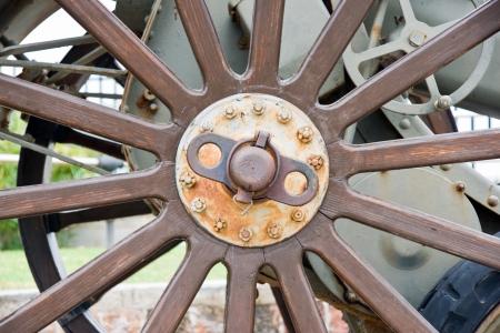 old metallic cannon photo