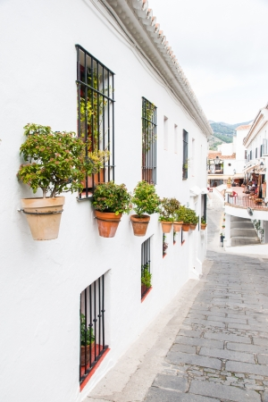 Mijas in Malaga, Andalucia, Spain Stock Photo