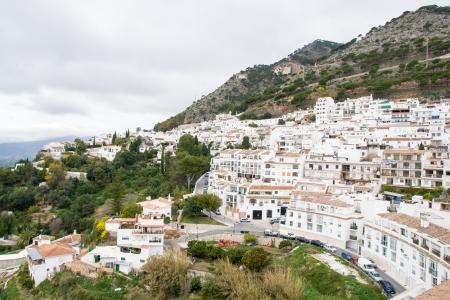 Mijas in Malaga, Andalucia, Spain Stock Photo