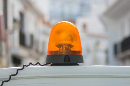 orange siren