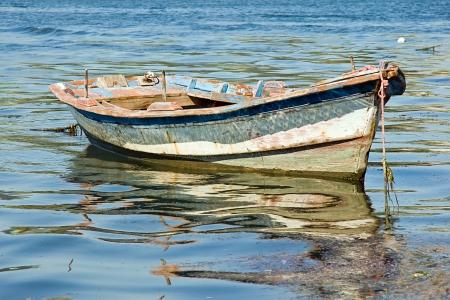 boats in Arcade, Galicia, Spain