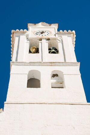 church in Frigiliana  in Costa del Sol, Malaga Province, Andalusia, Spain photo