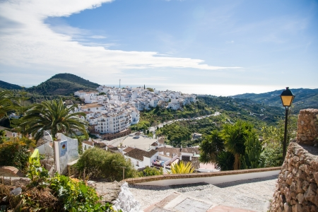 Frigiliana  in Costa del Sol, Malaga Province, Andalusia, Spain