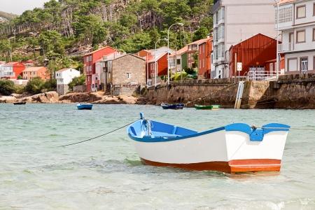 bateaux à Rías Baixas, en Galice, Espagne Banque d'images