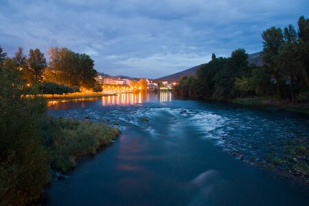 orense: O Barco in Galicia, Spain