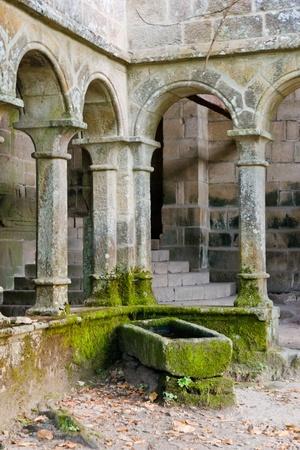 sil: Santa Cristina de Rivas de Sil monastery, Ribeira Sacra, Ourense, Galicia, Spain