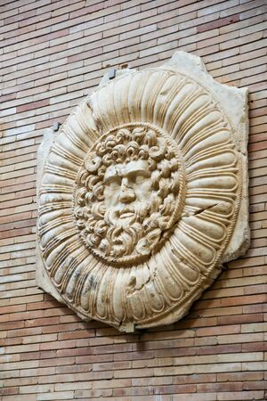 merida: Roman ruins in Merida, Badajoz, Extremadura, Spain