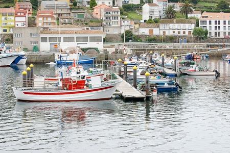boats in Muxia, Costa da Morte, Galicia, Spain Stock Photo - 19106975