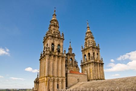 cathedral in Santiago de Compostela, Spain photo