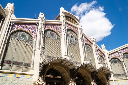 mercado central: Central market in Valencia, Spain