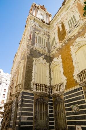 Marques de dos aguas palace, Valencia, Spain