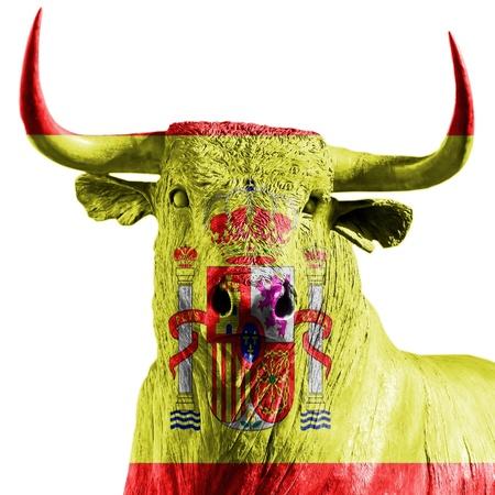 bullfighter: spanish bull