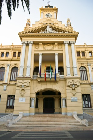 Malaga town hall in Spain