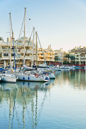 Puerto Marina in Benalmadena, Malaga, Spain Stock Photo - 22948242
