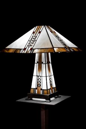 tiffany lamp Stock Photo