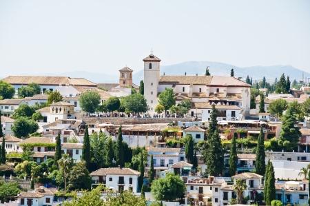 Granada in Andalucia, Spain. View of Albaicin.