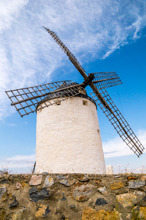 windmills in Consuegra, Spain photo