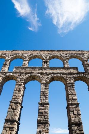 segovia: Acueducto in Segovia, Spain