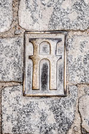 acueducto: Acueducto signal in Segovia, Spain