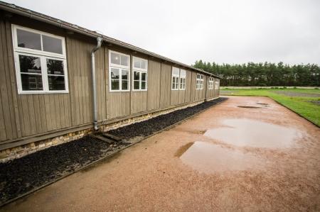 barracks: Sachsenhausen, Nazi concentration camp in Oranienburg, Germany