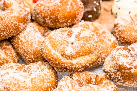 cooky: closeup of rosquillas, typical spanish donuts Stock Photo